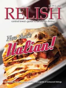 12 Relish Fall