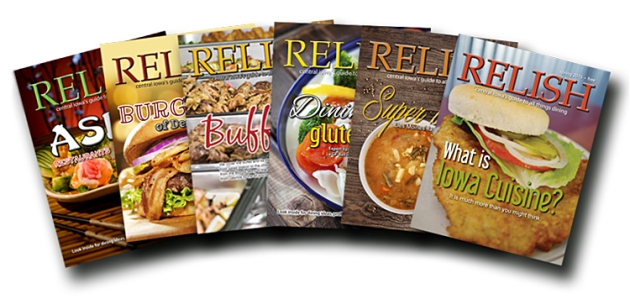 Relish covers