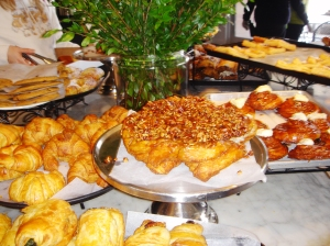 La Mie's elegant pastries.
