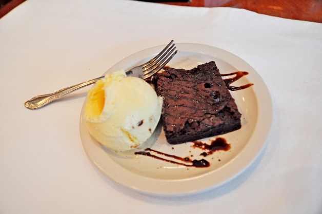Gluten-free bakers are beginning to master the challenge of offering sweets and treats that measure up to traditional recipes, such as this chocolate brownie a la mode served at The Club Car in Clive.