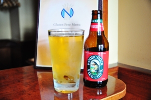 Woodchuck Hard Cider is served almost everywhere and promises to be 100-percent safe for a gluten-free diet.