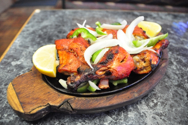 Tandoori Chicken is served at India Star Restaurant.