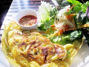 Saigon crepes at Pho All Season.