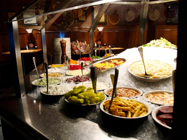 With dozens of different homemade salads of the sweet, salty and pickled varieties, Chicago Speakeasy isn't your average salad bar.