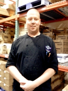 Brian Ehrig has been executive chef at Meskwaki Casino for 14 years.