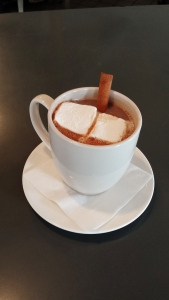 Prairie Fire cinnamon whiskey and dark cocoa, topped with Chef Joseph's Marshmallow