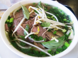 Pho, like this version from Pho All Seasons, is the French onion soup of Asia.