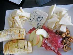 All Iowa charcuterie plate at Cityscapes.