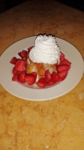 With fresh fruit, flaky biscuits and a scoop of ice cream, strawberry shortcake hits all the points of a great dessert.