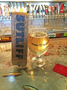 The Sutliff tap is used often at el Bait Shop, where the Iowa-based company is the favorite among hard ciders.