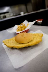 Pork tenderloins come in all shapes and sizes, and can be found at many Iowa restaurants, including Jethros, Chicago Speakeasy, B-Bops and John & Nick's Steak & Prime Rib.