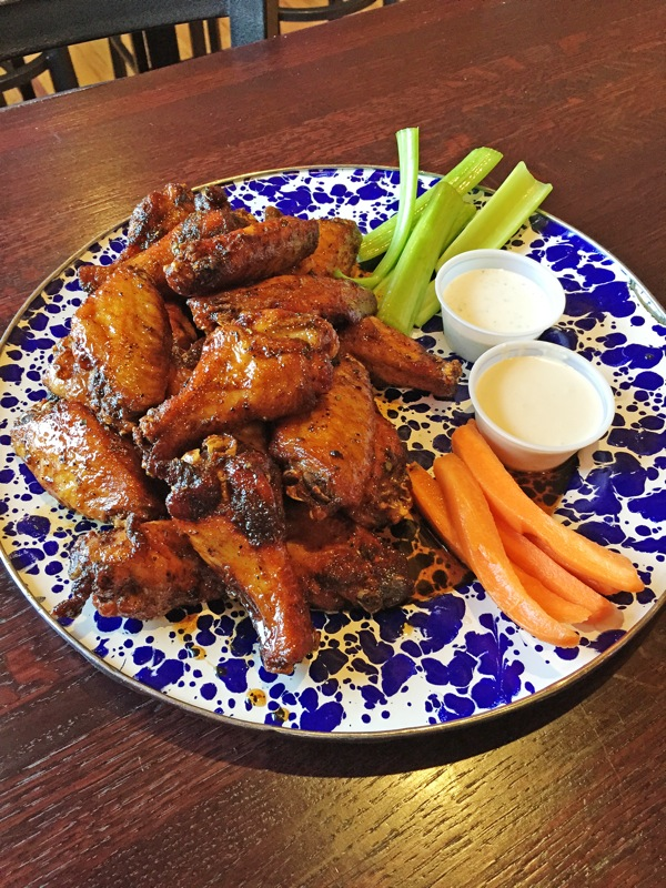 The traditional wings at Jethro's are slow-smoked for two hours and flash-fried to order every day. Find more finger-lickin' wings at Down Under, Jethro's, Granite City, Quinton's and The Other Place.