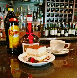 Tiramisu can be served in many different ways but is most commonly served with coffee or coffee-flavored liquor.