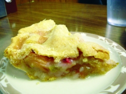 Crouse Cafe has been serving scratch-made pies like this for nearly 75 years.