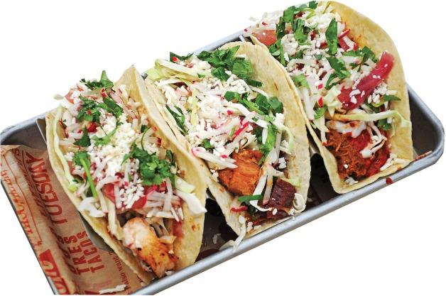 Taco Hangover.  Tacos - Al Pastor