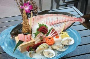 Wasabi - Sashimi Platter.